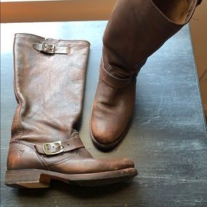 Frye slouch boots